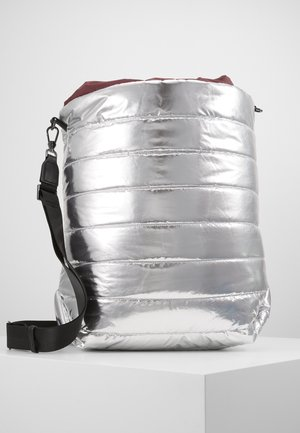 PILLOW - Shopping bag - silver