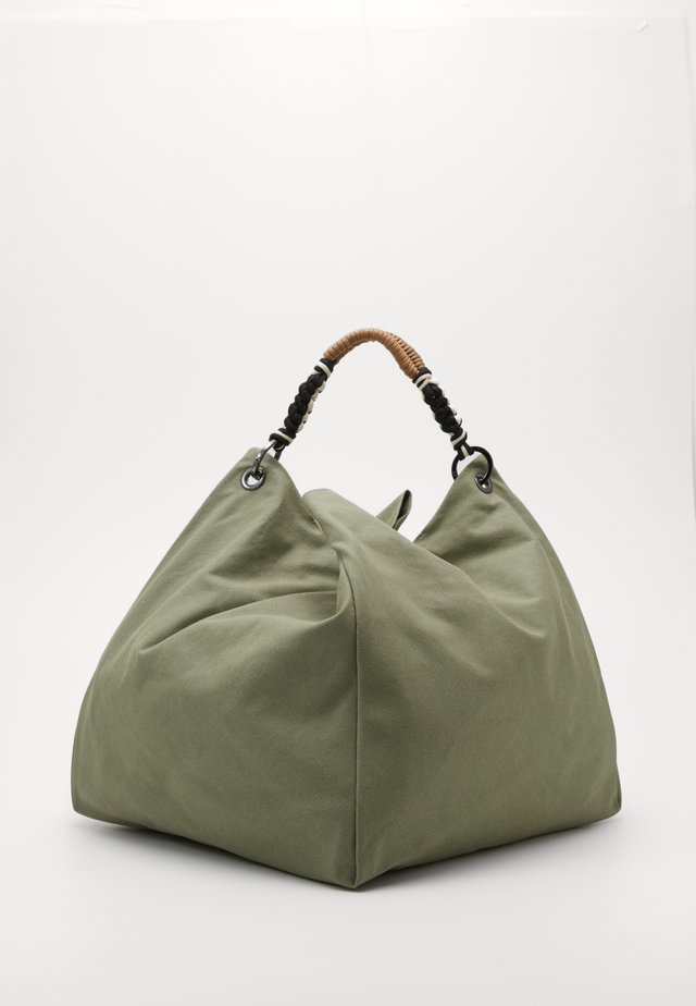 MANTA - Shopping bag - cardium green
