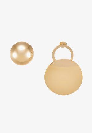AGATA - Øreringe - light gold-coloured