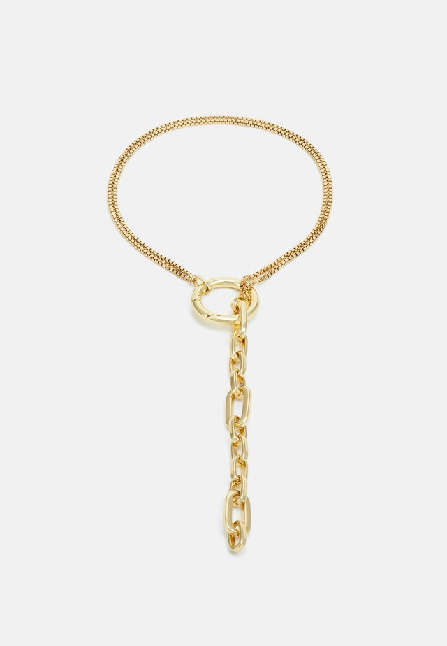 AURA - Necklace - gold-coloured