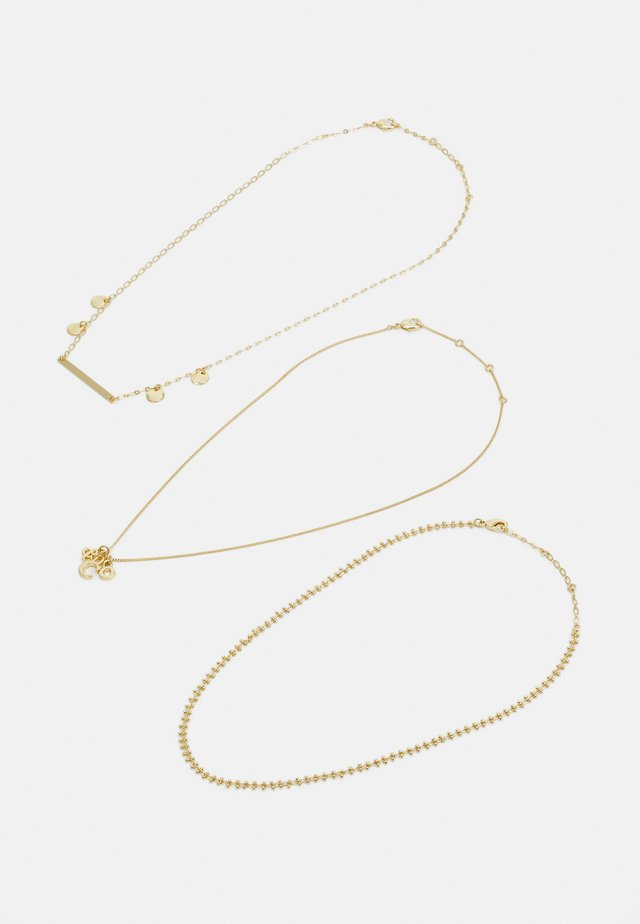 AIRE 3 PACK - Halsband - gold-coloured