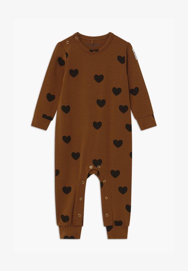 BABY HEARTS UNISEX - Tuta jumpsuit - brown
