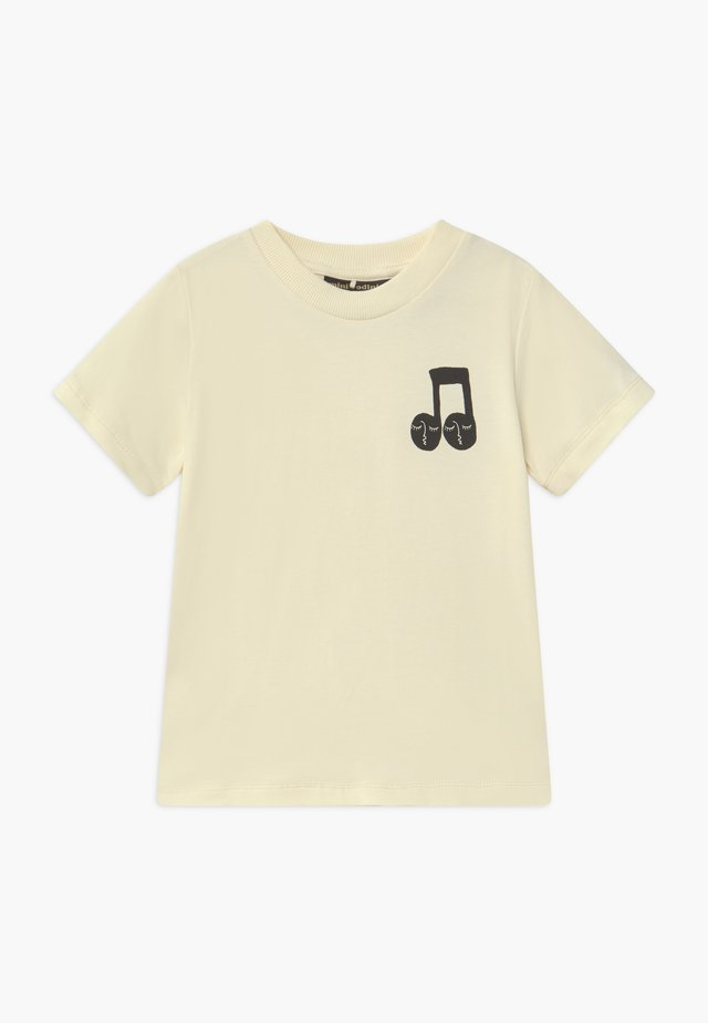 NOTE TEE - T-shirts med print - offwhite