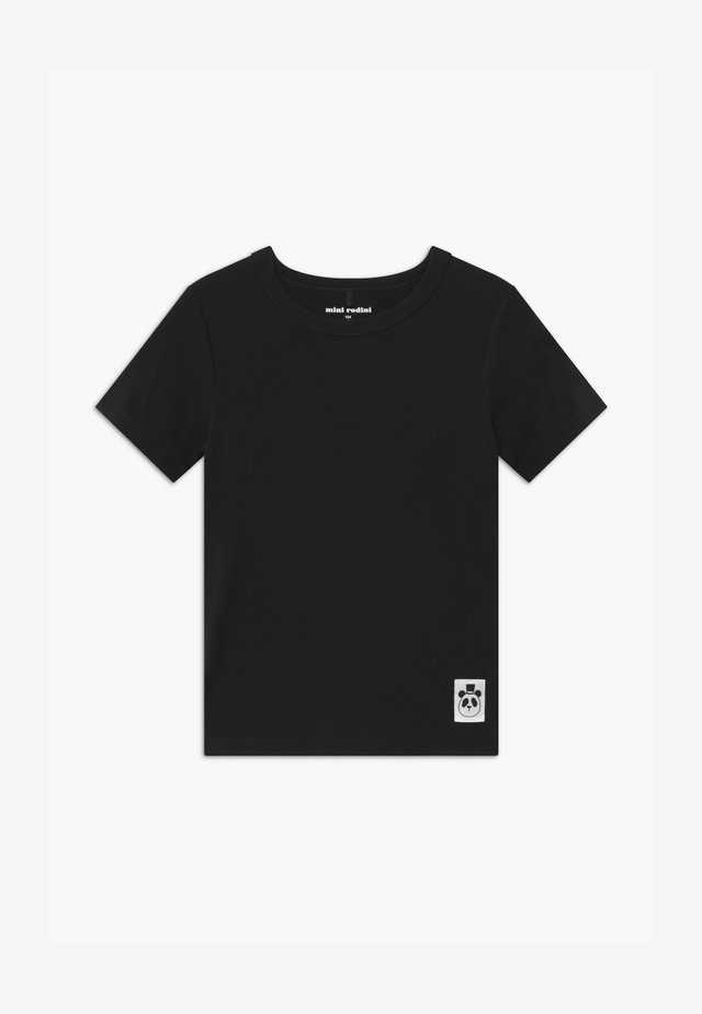 BASIC - Print T-shirt - black