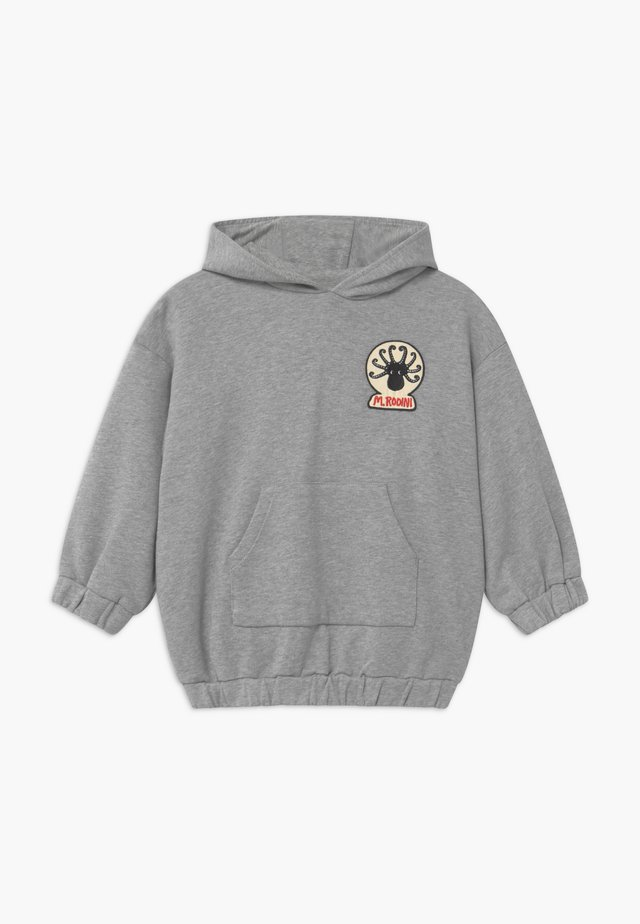 OCTOPUS PATCH HOODIE - Sweatshirt - grey