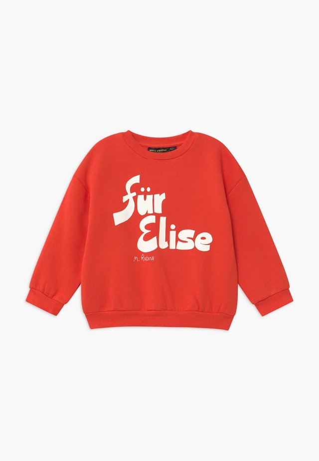 FÜR ELISE  - Sweatshirt - red