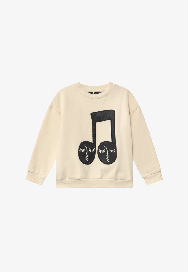 NOTE PATCH - Sweatshirt - off white