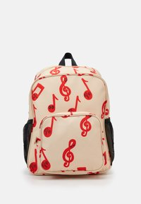 Mini Rodini - NOTES SCHOOL BAG - Rucksack - beige - 0