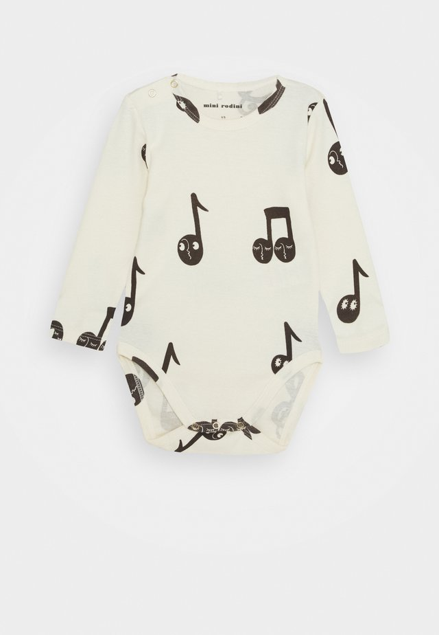 BABY NOTES BODY UNISEX - Body - offwhite