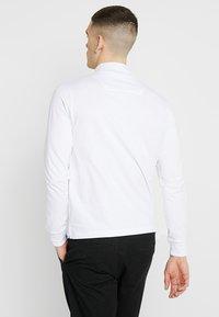 Marshall Artist - SIREN ZIP NECK - Long sleeved top - white - 2