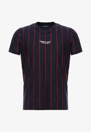 PINSTRIPE - T-shirt imprimé - navy