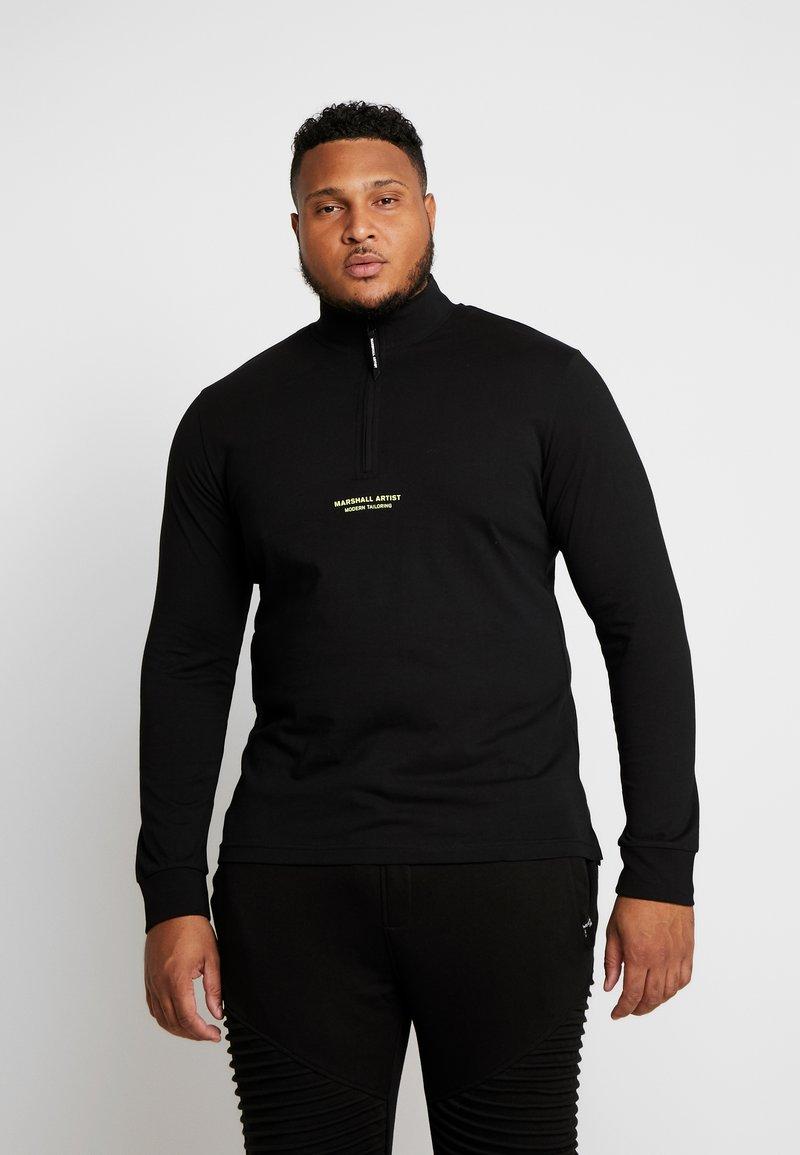 Marshall Artist - SIREN FUNNEL NECK - Langærmede T-shirts - black