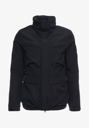 GARMENT DYED FIELD JACKET - Lehká bunda - navy
