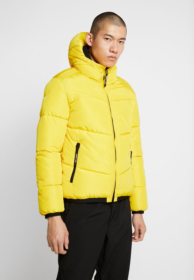 PANINARO BUBBLE JACKET - Zimní bunda - yellow
