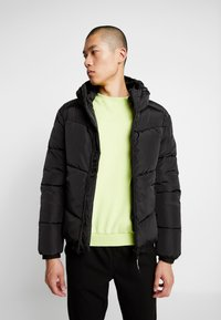 Marshall Artist - PANINARO BUBBLE JACKET - Winter jacket - black - 0
