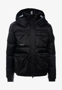 Marshall Artist - CROSS BODY JACKET - Zimní bunda - black - 5