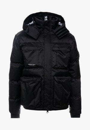 CROSS BODY JACKET - Winterjacke - black