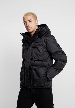 CROSS BODY JACKET - Zimní bunda - black