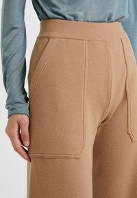 MRZ - PANTALONE DIAGONALE - Trousers - palecamel - 4