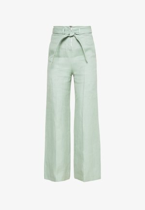 MINT TROUSERS - Stoffhose - dusty green