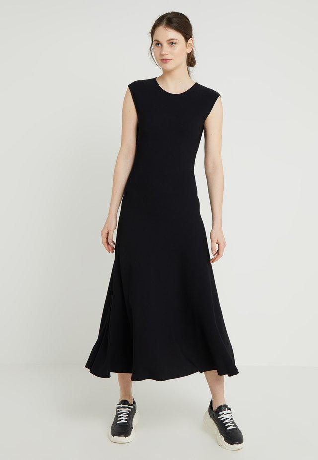 ABITO DETTAGLIO SCHIENA - Maxi šaty - black