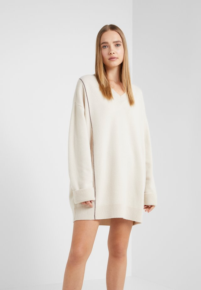Jumper dress - off-white