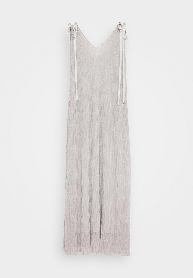 DRESS - Maxikjoler - silver