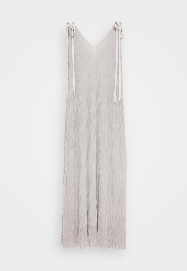DRESS - Maxikleid - silver