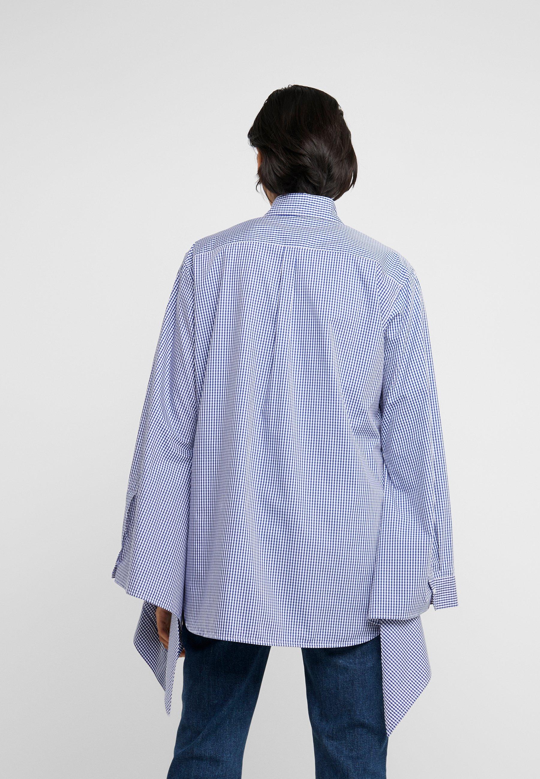 MRZ CAMICIA DETTAGLIO FIOCCHI - Skjorte - blue