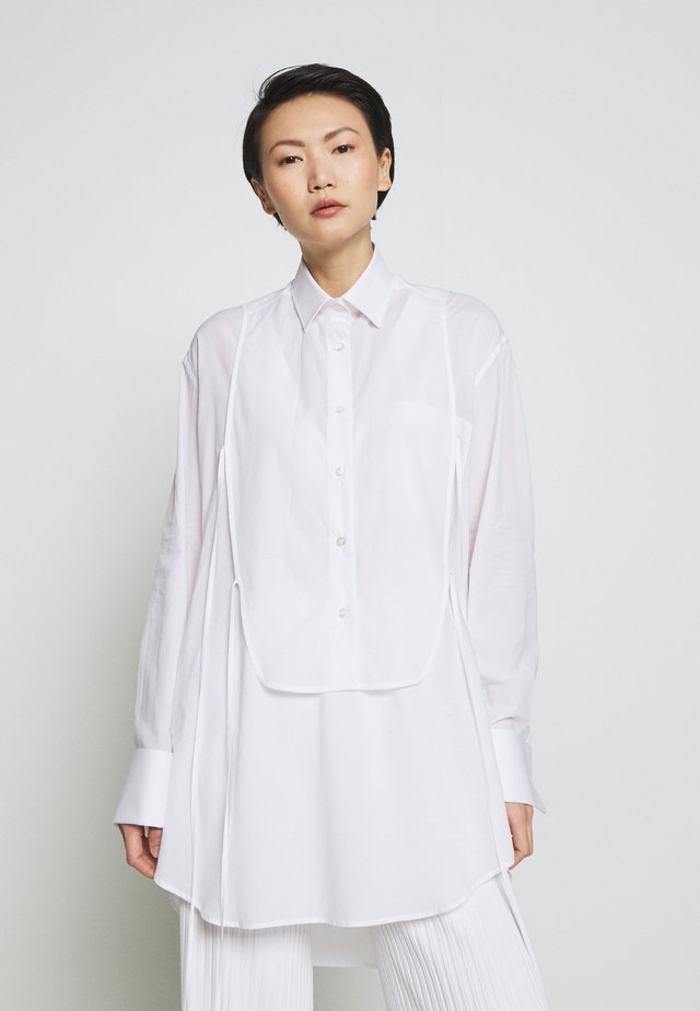 BLOUSE - Hemdbluse - white