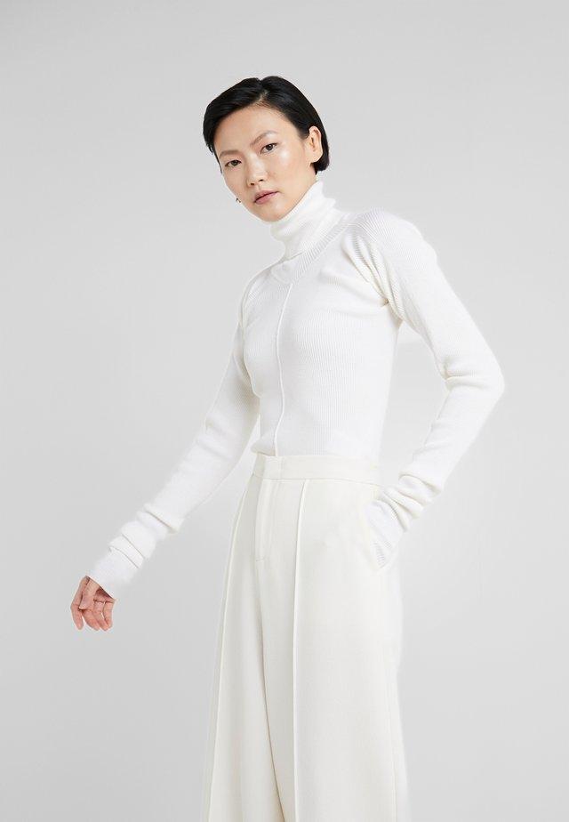 DOLCEVITA ARRICCIATO - Jumper - optical white
