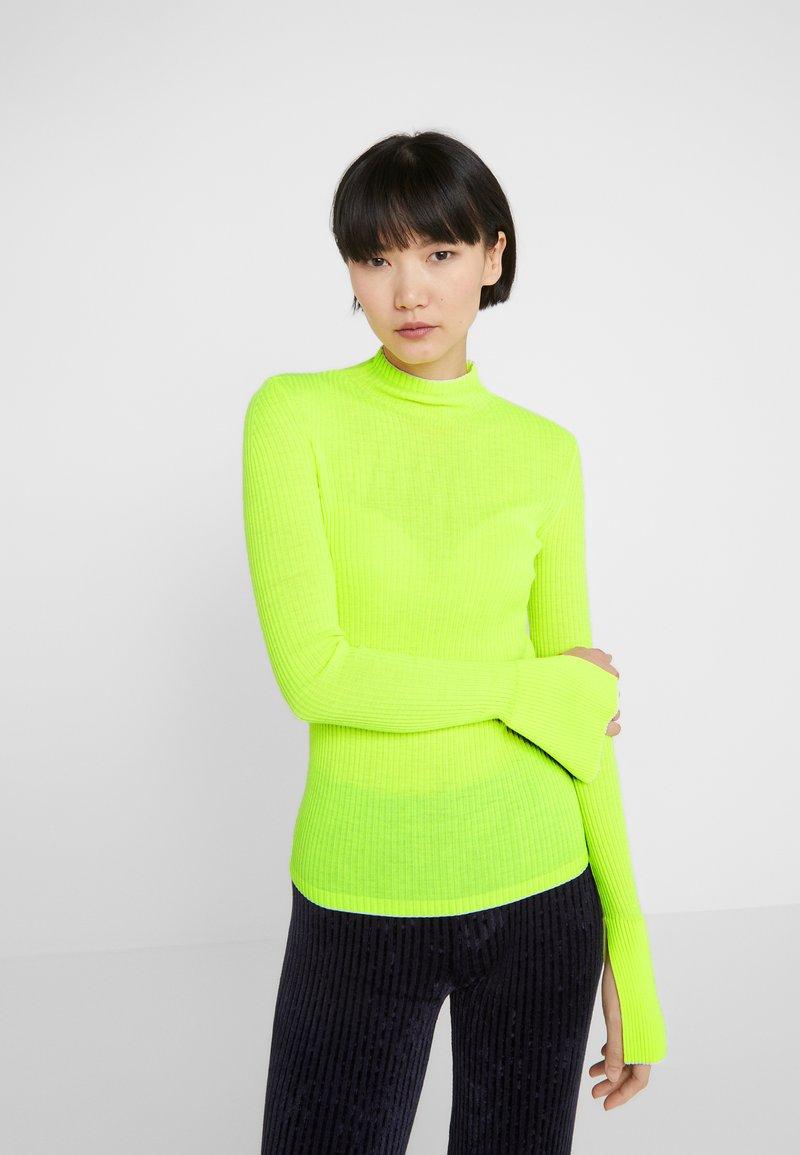 MRZ - CRATERINO COSTE - Sweter - neon yellow