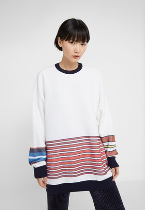 RAGLAN PARICOLLO - Sweter - off white
