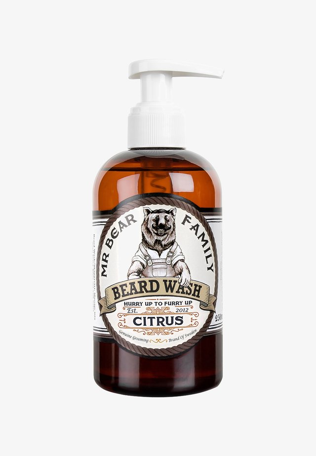 BEARD WASH - Shampoo da barba - citrus