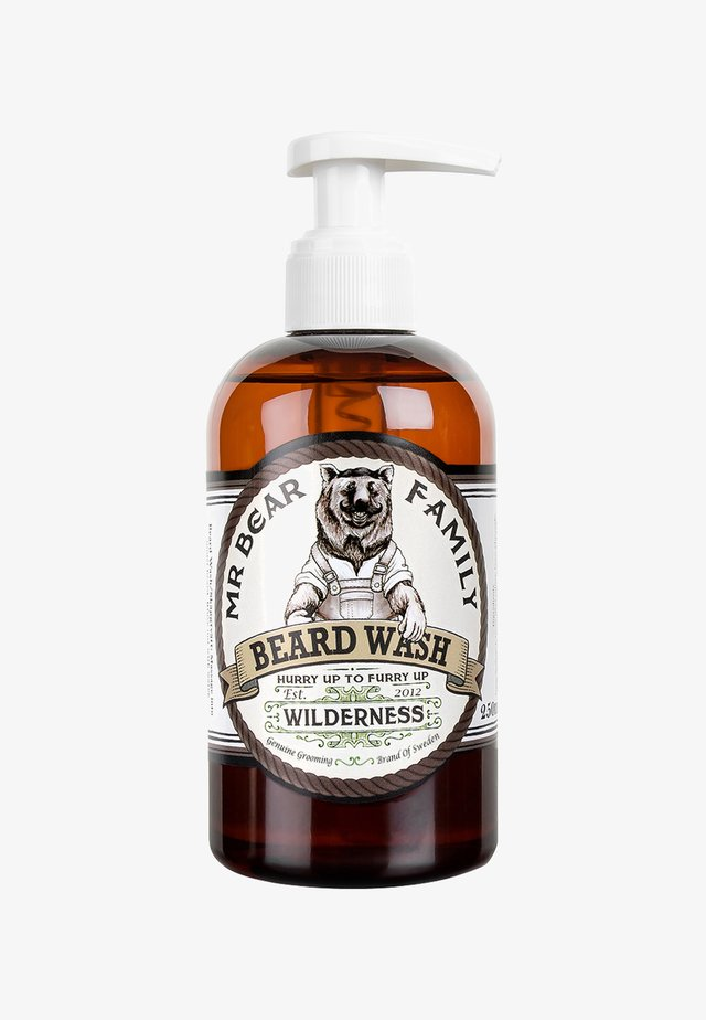 BEARD WASH - Shampoo da barba - wilderness