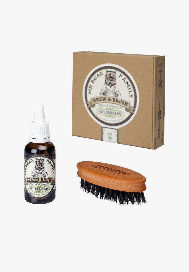 BREW & BRUSH - Kit rasatura - wilderness