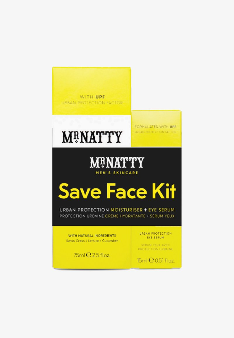Mr Natty - URBAN PROTECTION DUO SAVE FACE KIT - Gesichtspflegeset - -