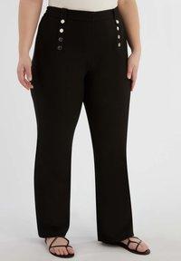 MS Mode - Pantalon classique - black - 0