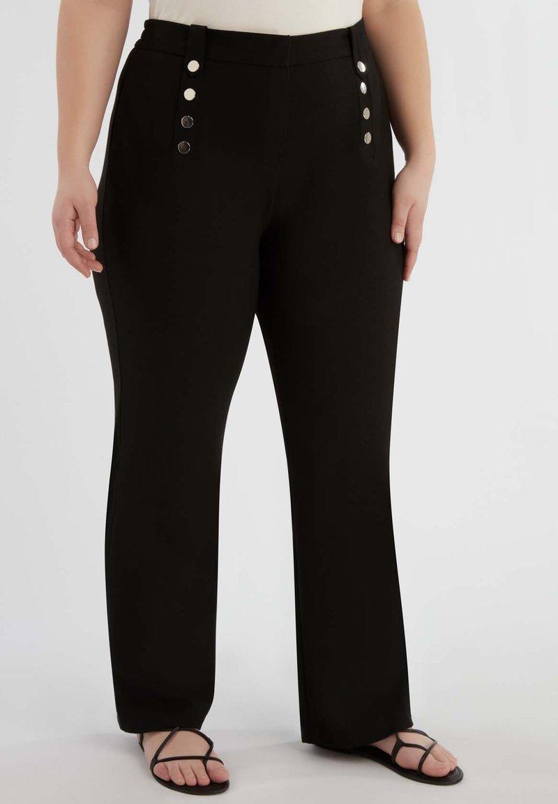 MS Mode - Pantalon classique - black