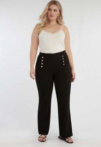 MS Mode - Pantalon classique - black - 1