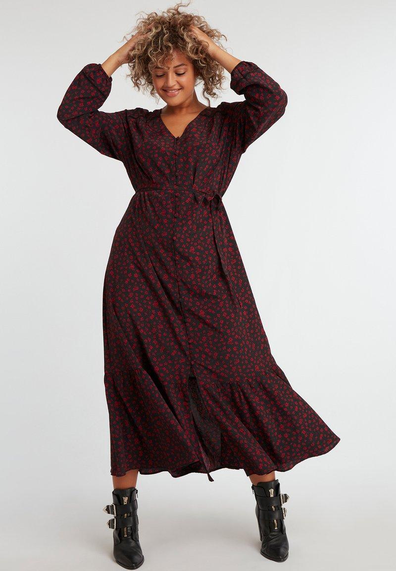 MS Mode - Robe longue - black