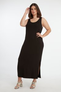 MS Mode - Maxi-jurk - black - 1