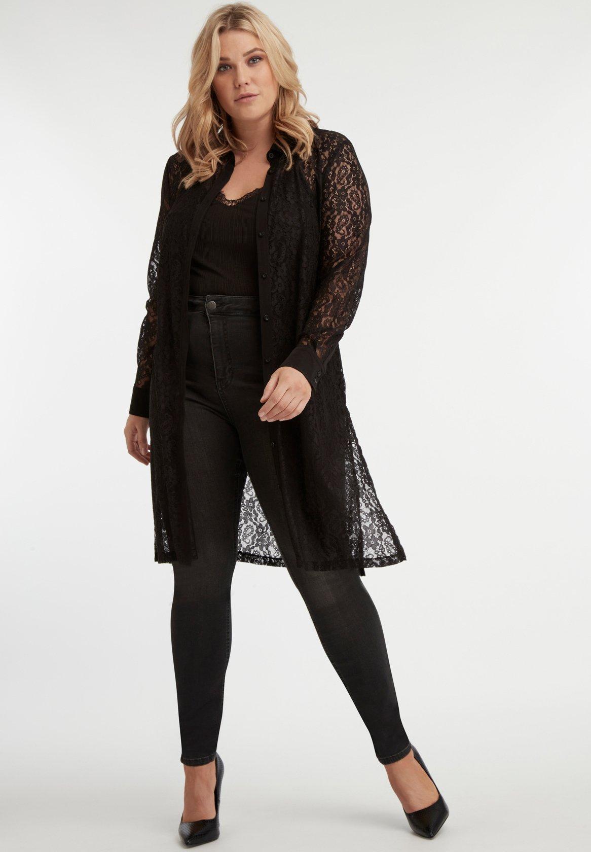 Ms Mode Chemisier - Black