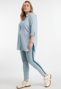 MS Mode - Button-down blouse - blue - 1