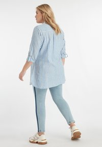 MS Mode - Button-down blouse - blue - 2