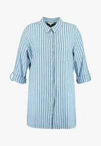 MS Mode - Button-down blouse - blue - 4
