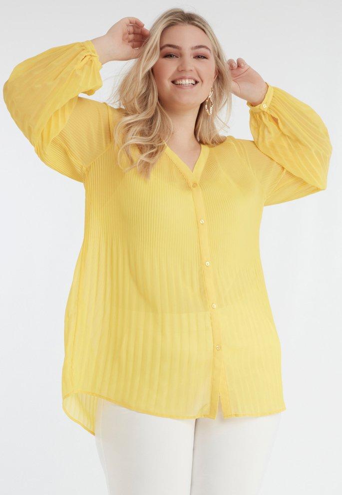 MS Mode - Blouse - yellow
