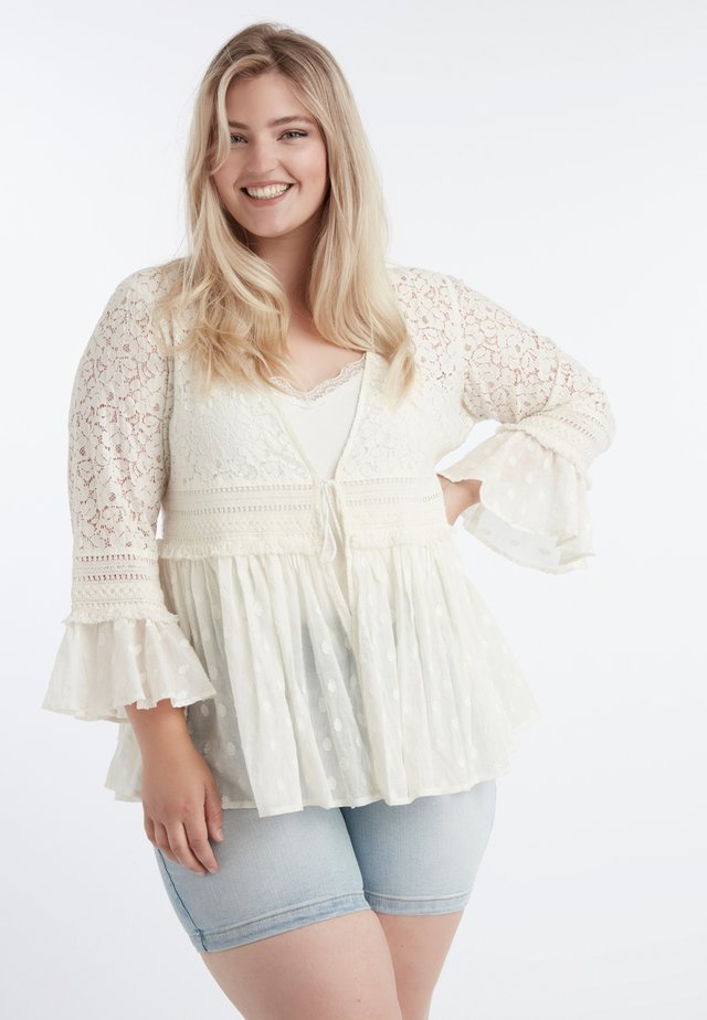 LACE SLEEVES - Tuniek - off-white