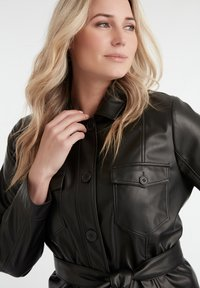 MS Mode - Faux leather jacket - black - 4