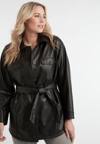 MS Mode - Faux leather jacket - black - 3